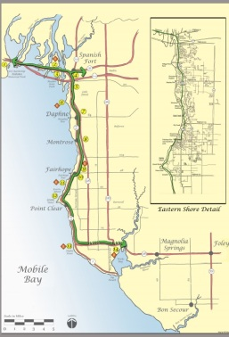 easter shore trail map