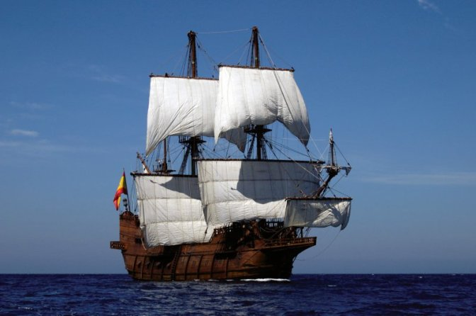 El Galeon Docks in Mobile!