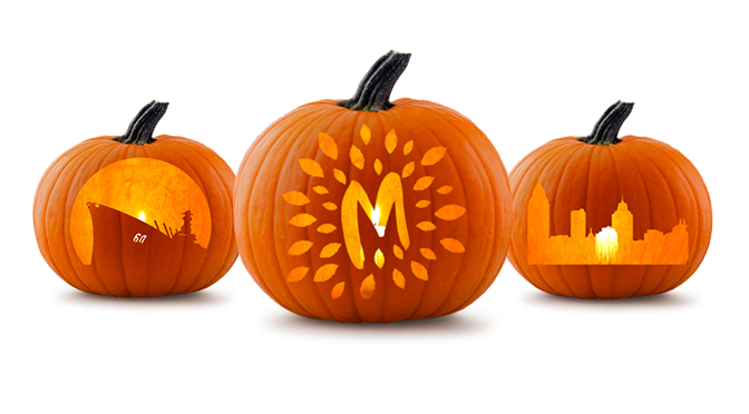 Carve Mobile into your pumpkins