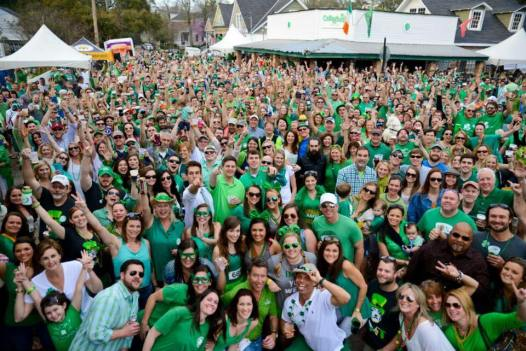 Callaghans Group shot St Patricks Day